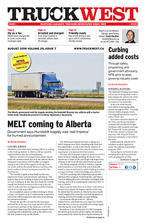 Current Issue - Truck West