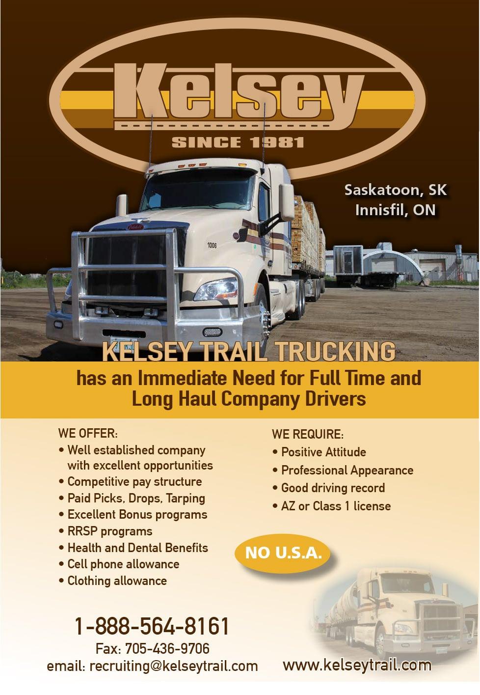 Kelsey Trail Trucking