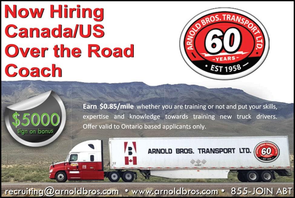 Arnold Bros. Transport – Truck West