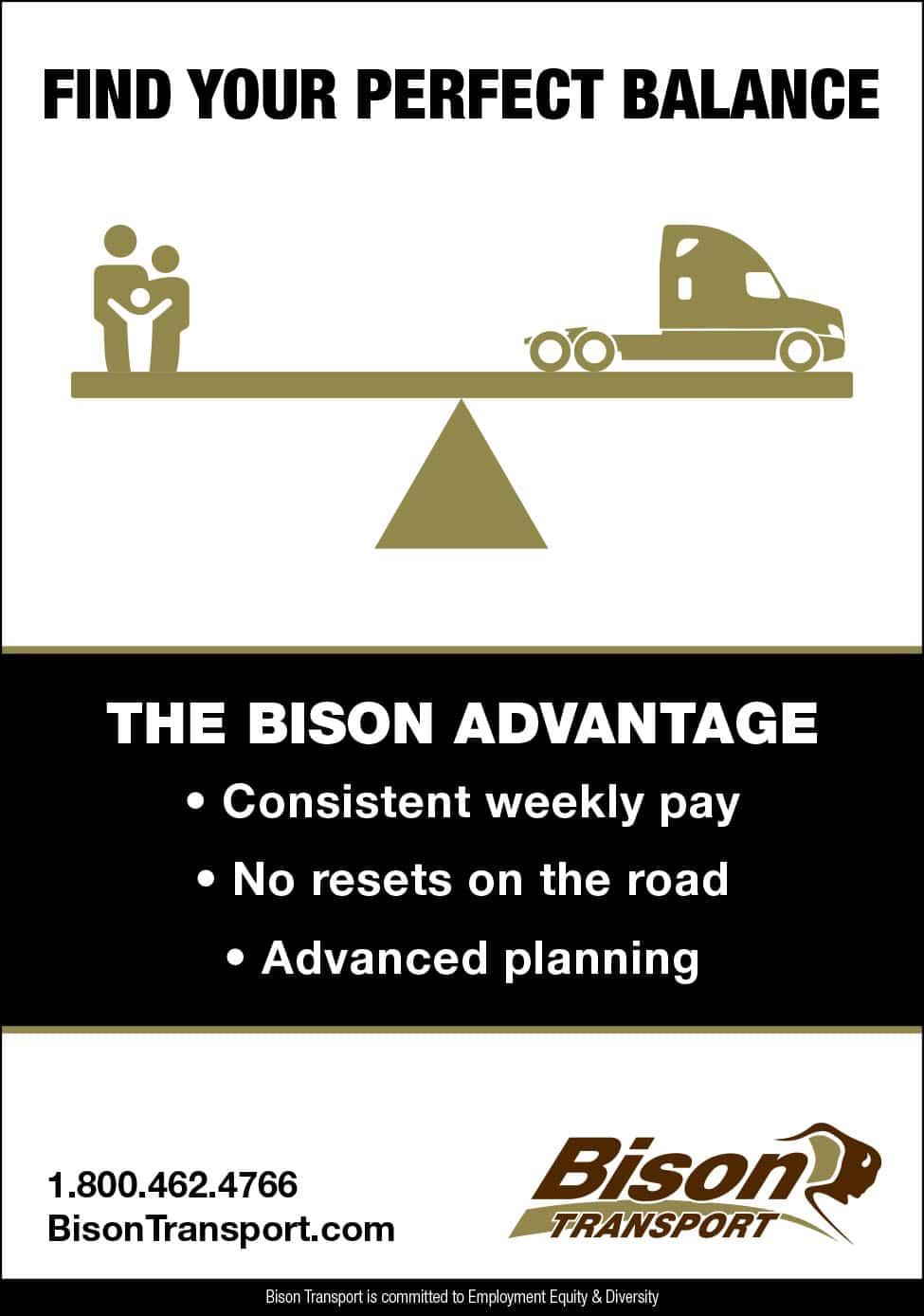 Bison Transport – Truck West