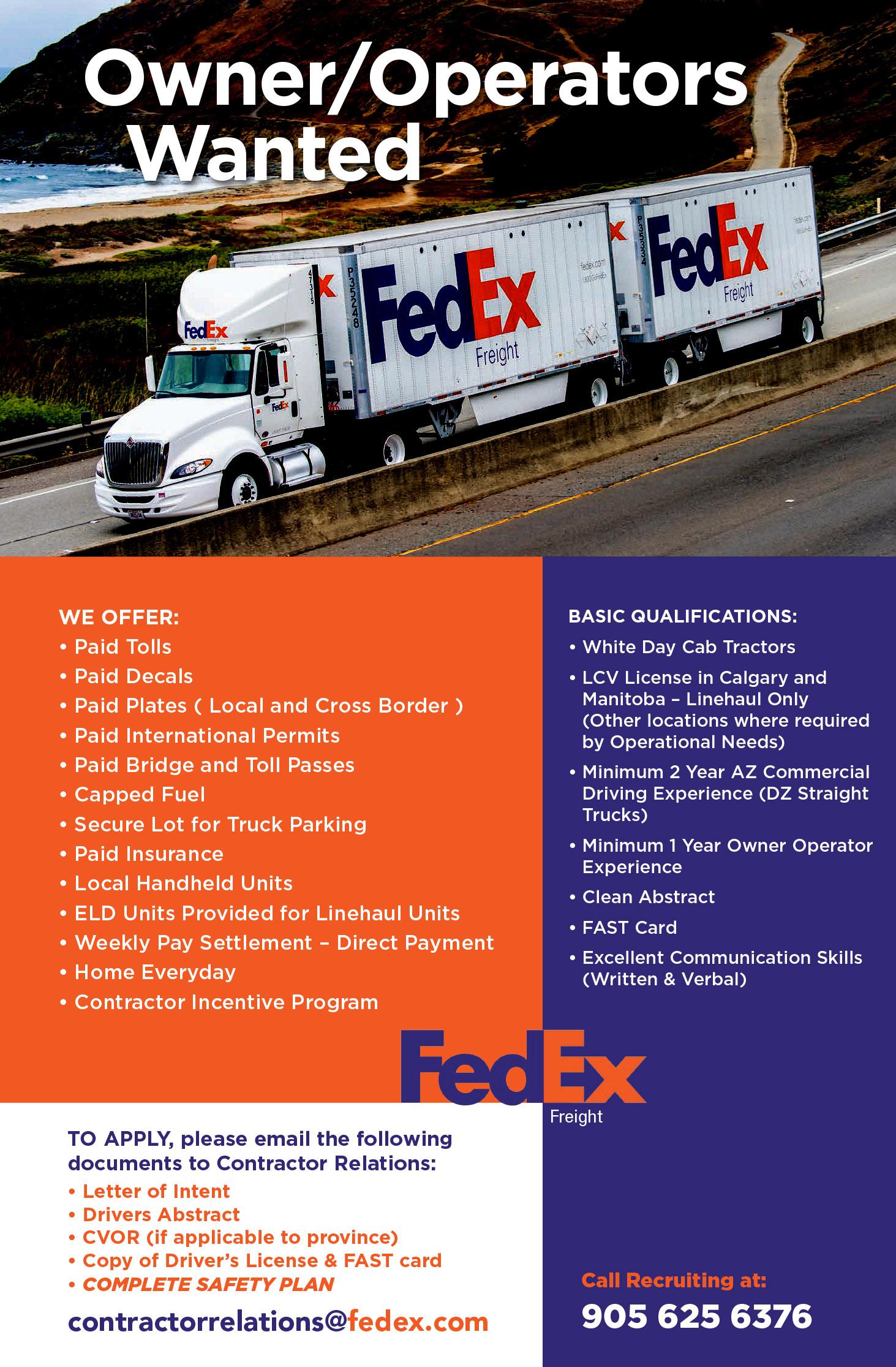 Fedex Freight Truck News