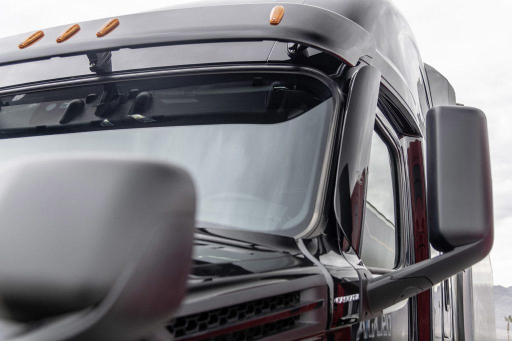Cascadia windshield