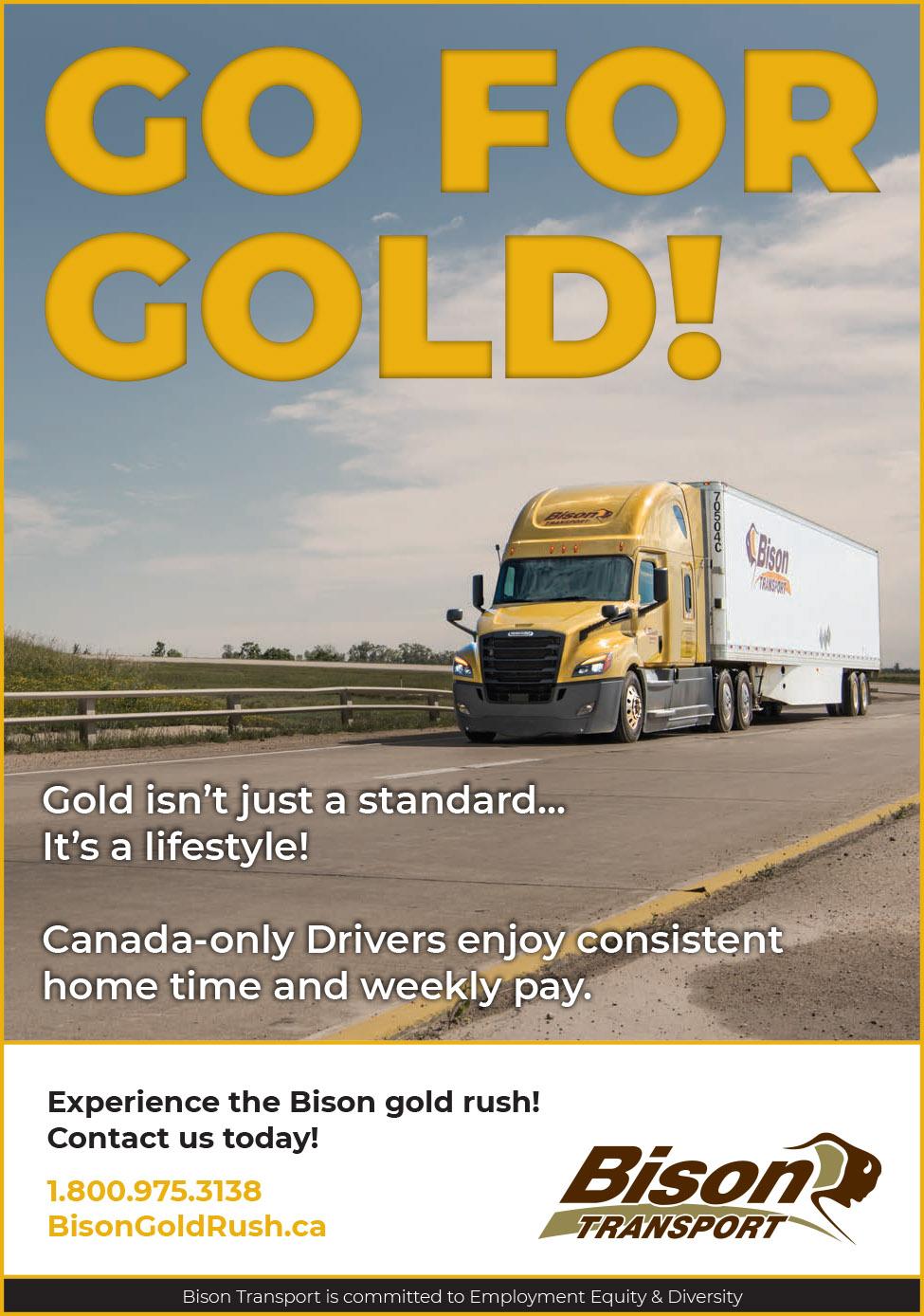 Bison Transport – Truck News-West