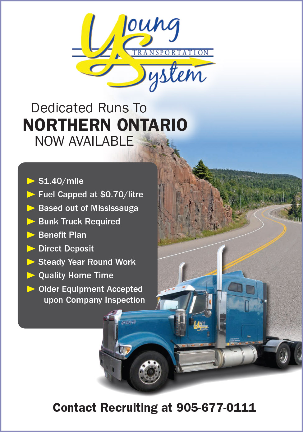 Young Transportation (Northern Ontario Runs)