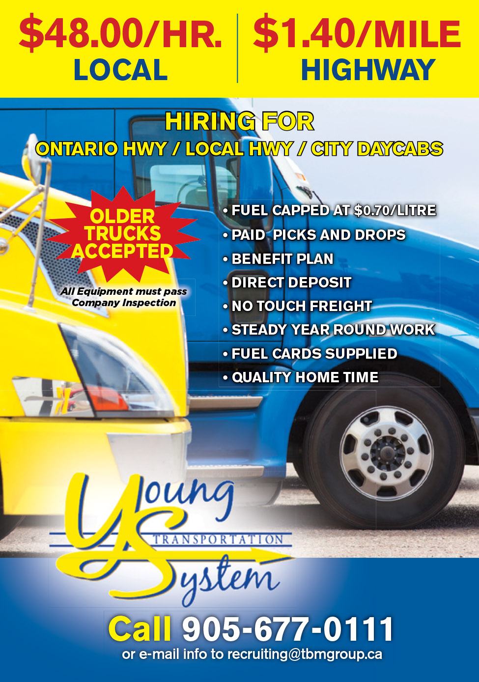 Young Transportation (Local Ontario  & Hwy. Runs)