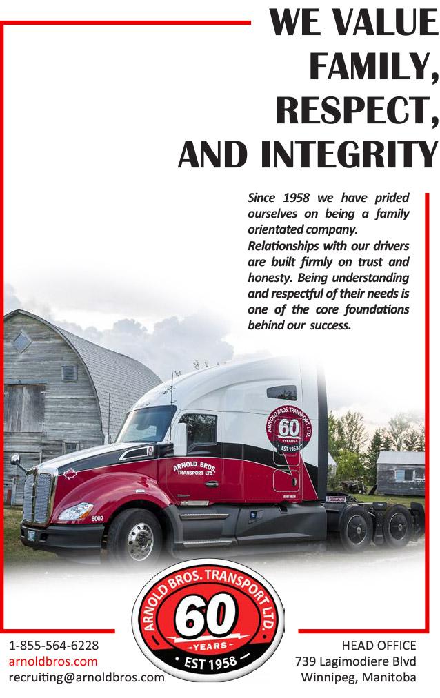 Arnold Bros. Transport – Truck News-West