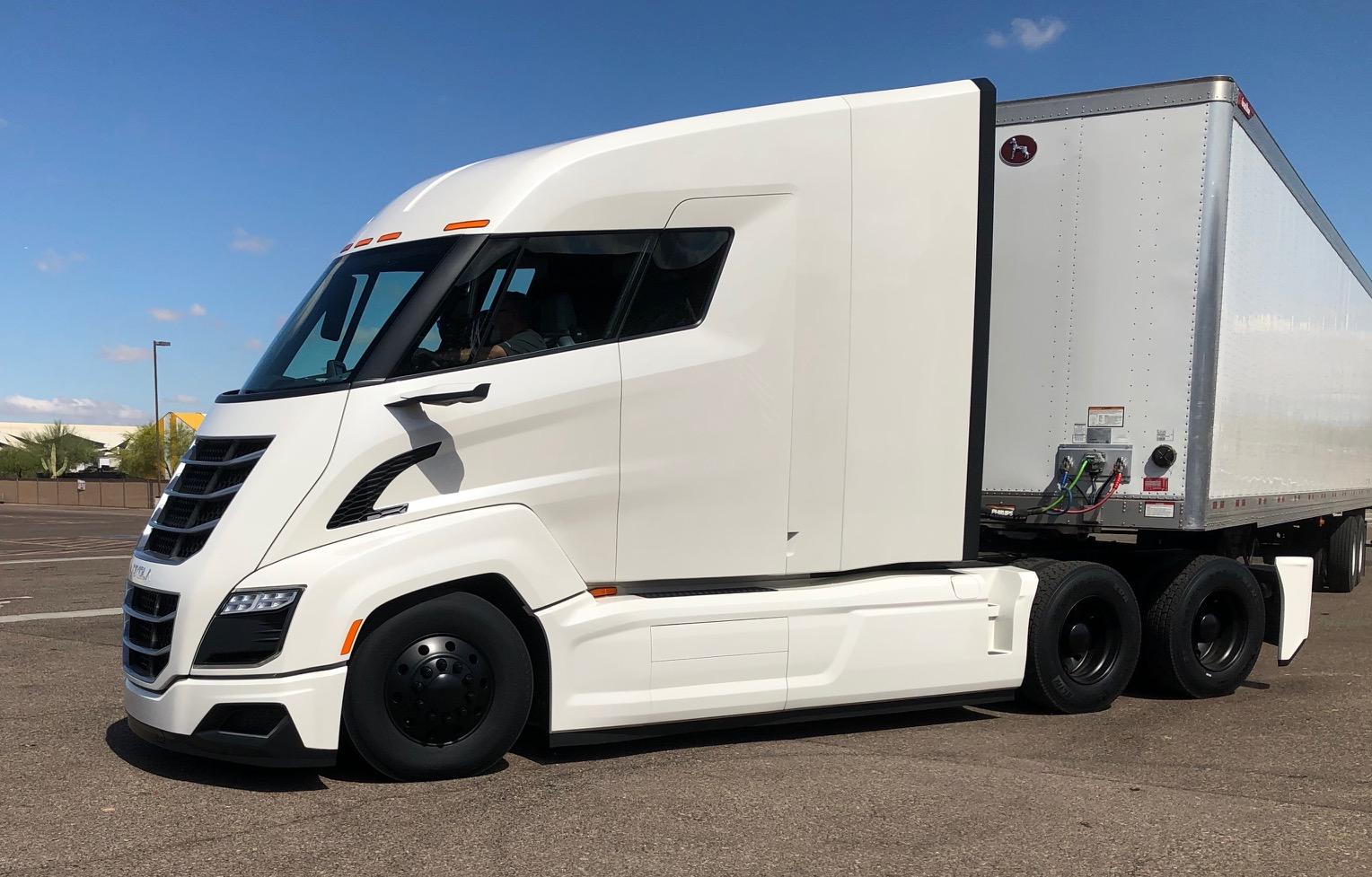 Spotlight Shines On Hydrogen Electric Trucks At Nikola World