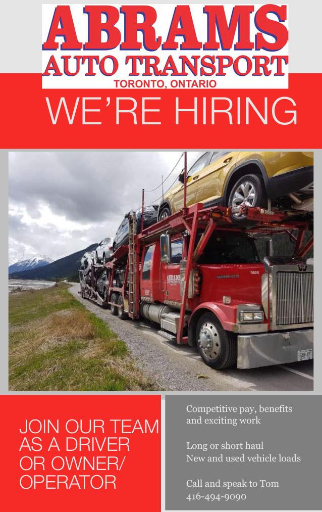 Abrams Auto Transport - Truck News
