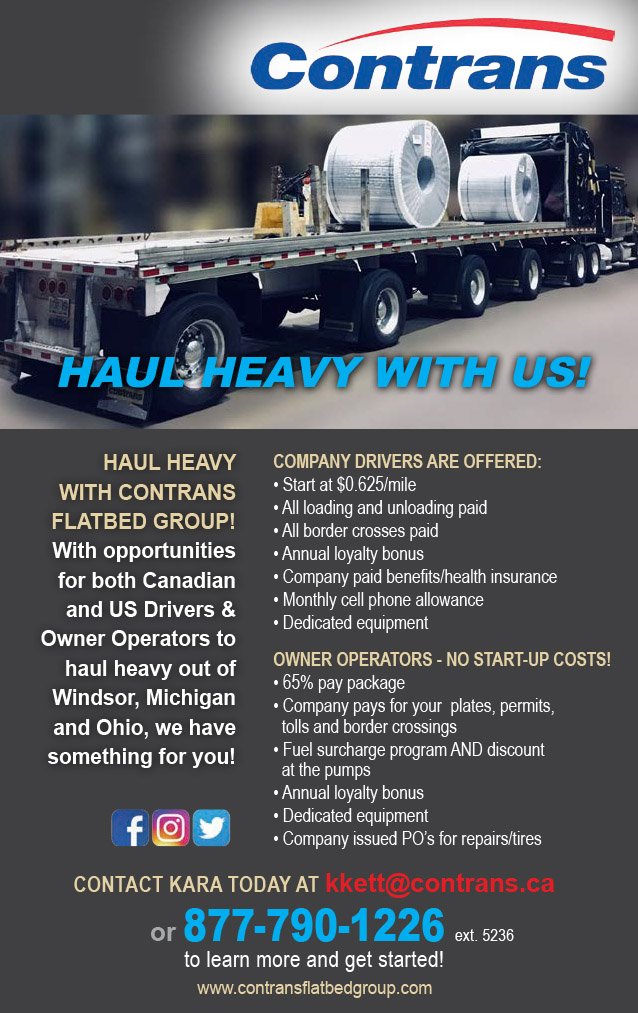 Contrans Flatbed Group – Drivers