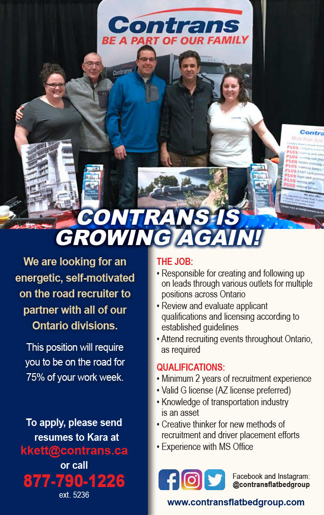 Contrans Flatbed Group – Recruiter