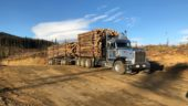 logging trailers
