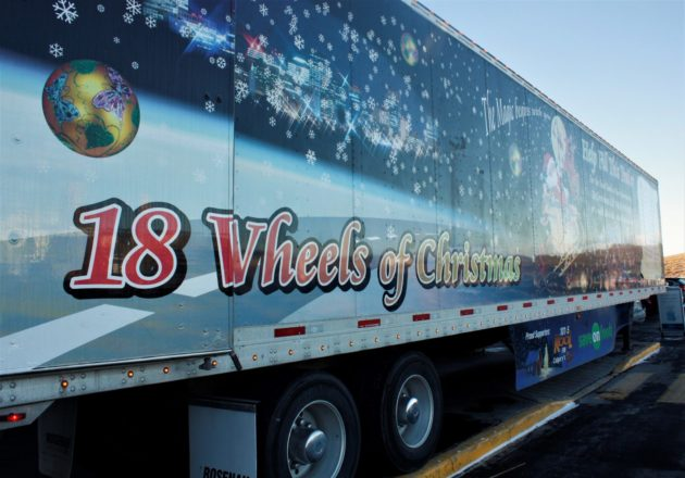18 Wheels of Christmas