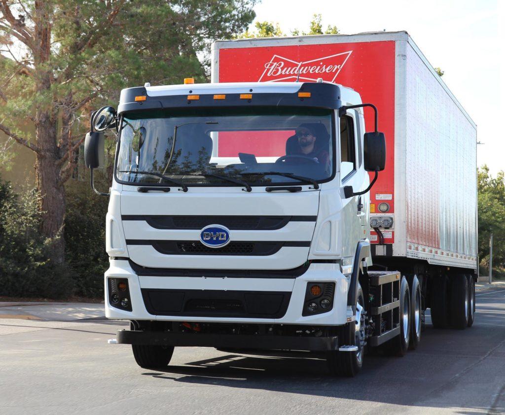 BYD truck