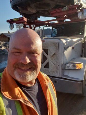 truck driver Trevor Yuise