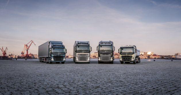 Volvo FH, FH16, FM, FMX trucks
