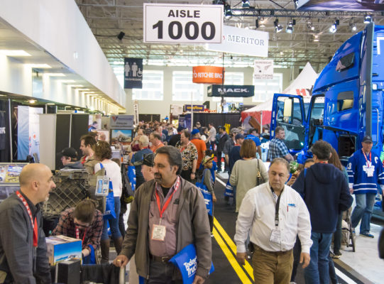 Truck World crowds
