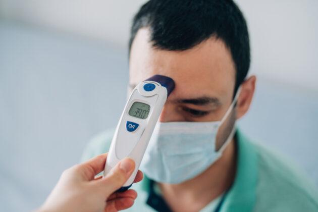 Covid-19 temperature test