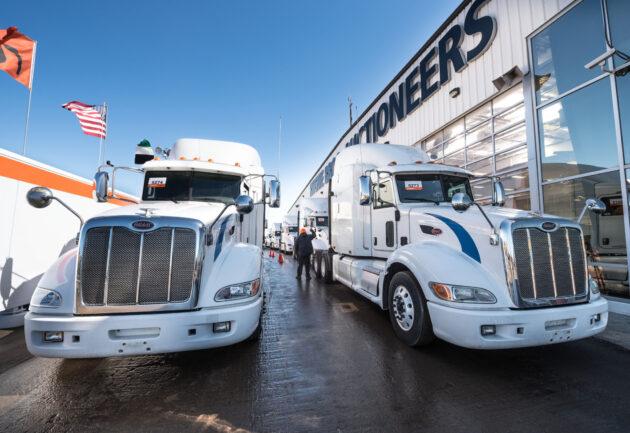Ritchie Bros. truck auction
