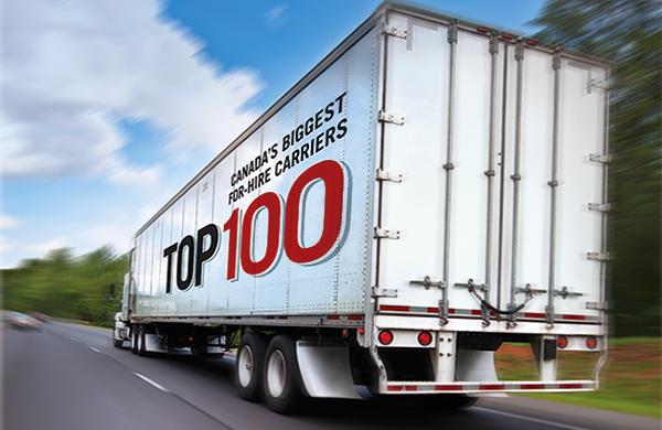 Top 100 truck fleets