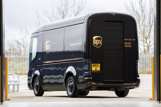 UPS electric truck