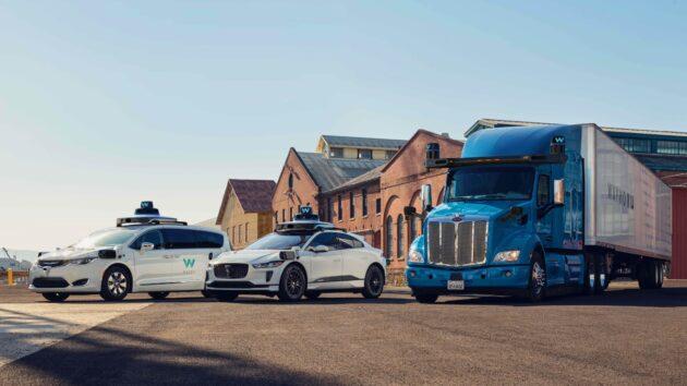 Waymo autonomous vehicles