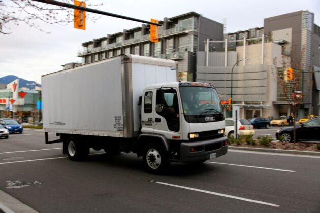 Truck-on-Cambie-Street