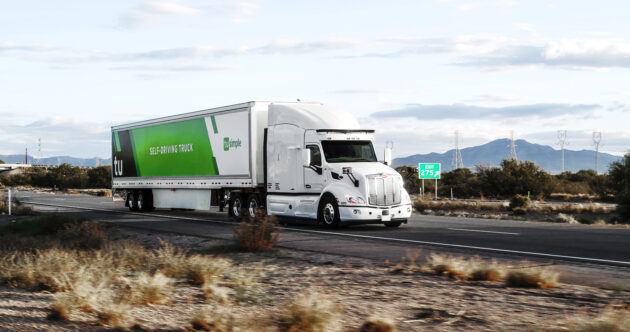 Level 4 autonomous trucks