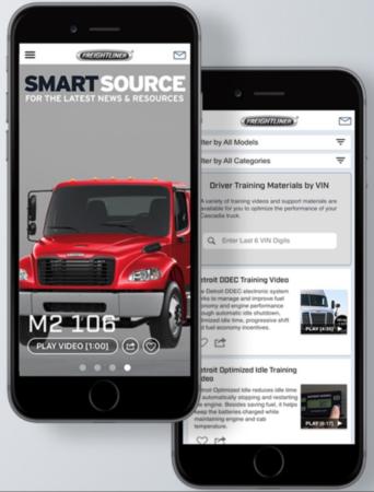 Freightliner app
