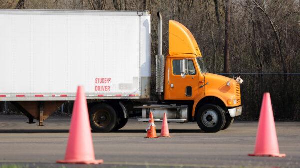 truck driver road test