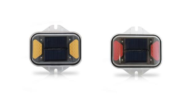 LED solar flasher