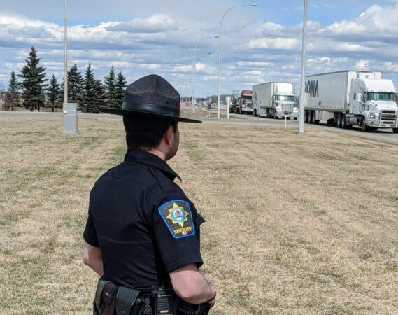 Roadside truck inspection