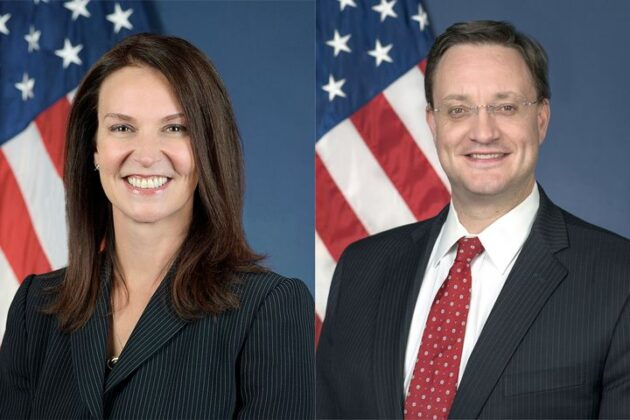 Federal Highway Administrator Nicole Nason and National Highway Traffic Safety Acting Administrator James Owens.