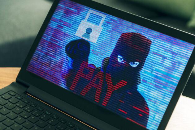 criminal ransomware attack
