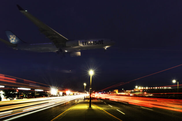 Pearson airport and highway