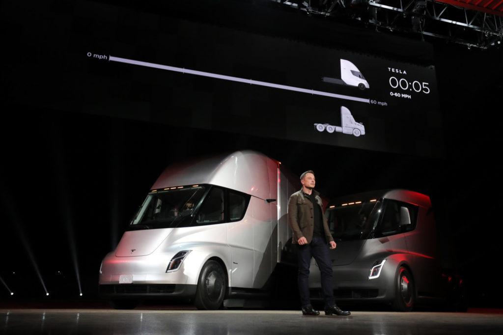 Elon Musk and Tesla Semi