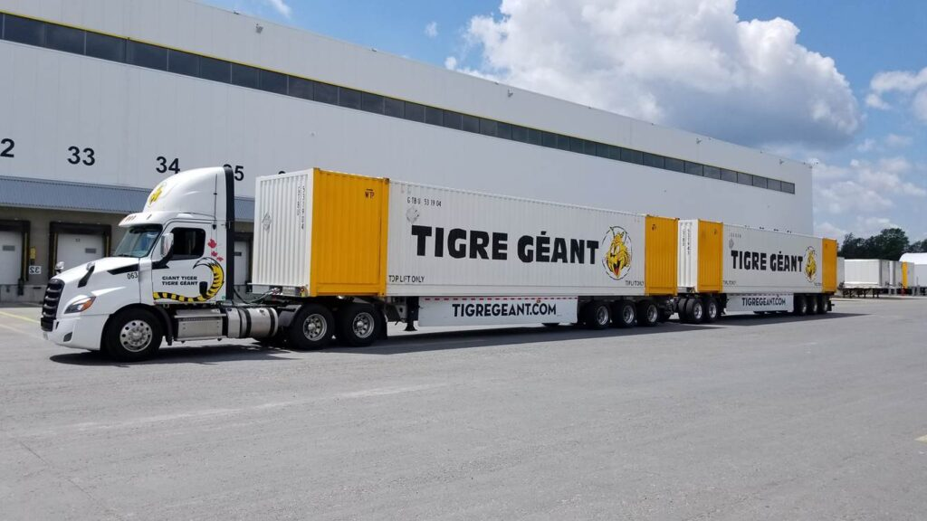 Giant Tiger 53-foot container