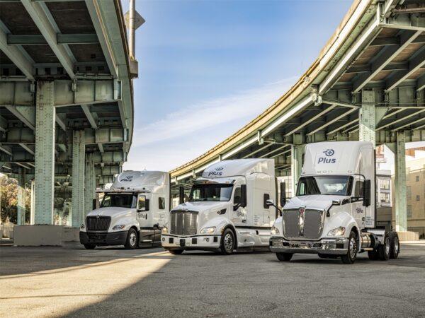 Plus autonomous trucks