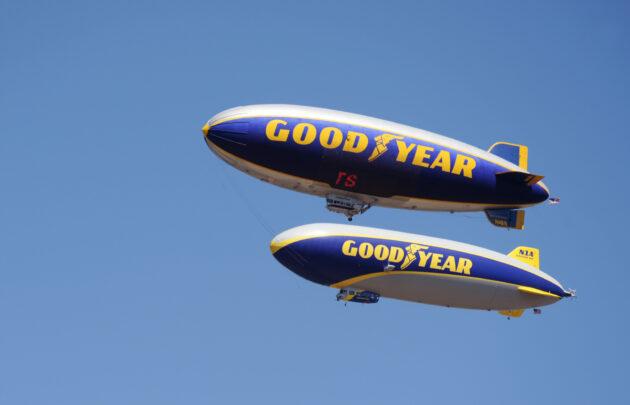 Goodyear blimps