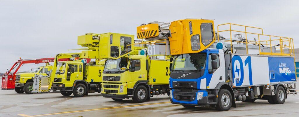 De-icing trucks