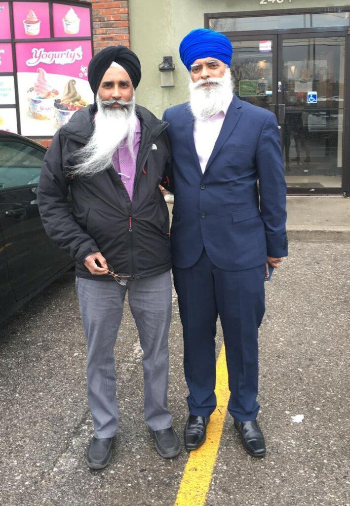 Dharampal and Ravi Singh