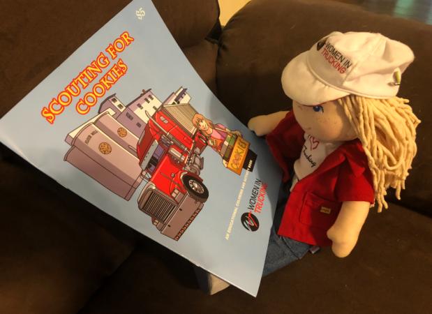Women in Trucking doll