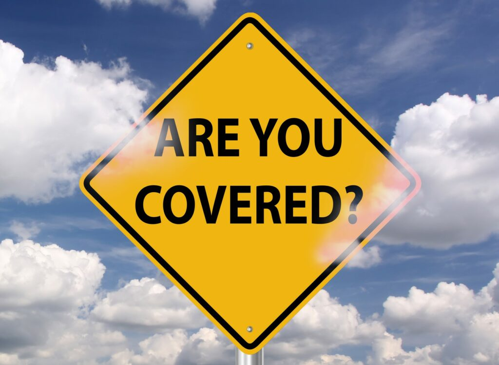 Are you covered highway sign