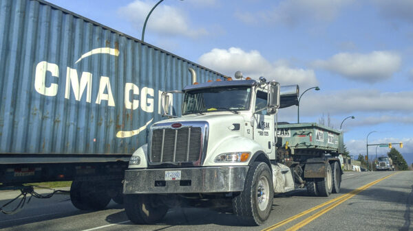 Vancouver container chassis
