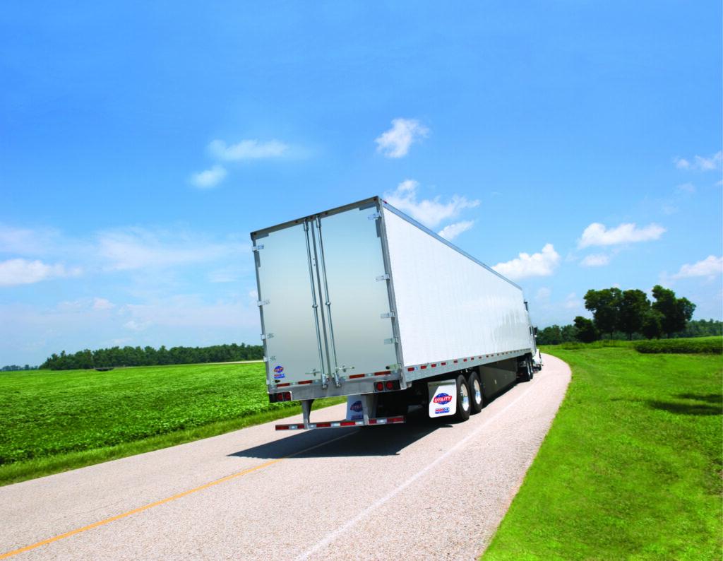Utility van trailer