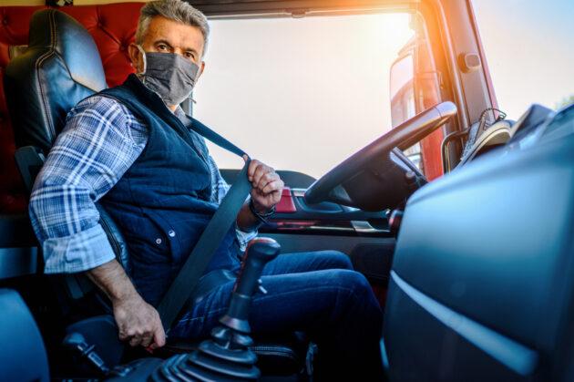 European truck driver