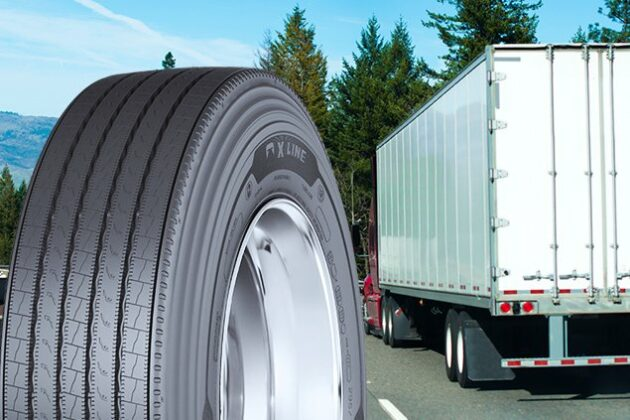 Michelin trailer tires