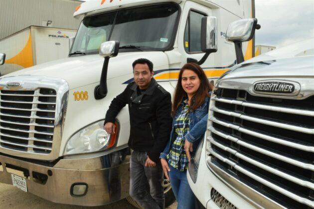 Polaris truck drivers