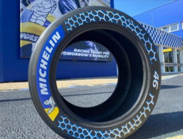 Michelin sustainable tire prototype