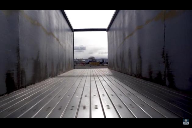 steel walking floor
