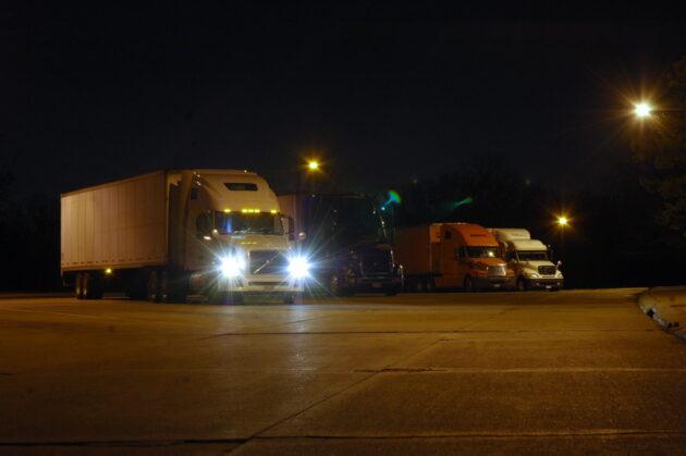 night truck parking